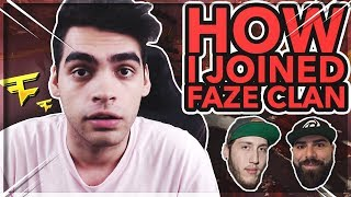 HOW I JOINED FAZE CLAN WITH 300 FOLLOWERS