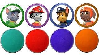 Кінетичний Пісок Сюрпризи та Іграшки з м/ф Щенячий Патруль Нові серії Відео для дітей Paw Patrol