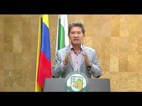 Intervención del Gobernador de Antioquia sobre el mapa del IGAC - Belén de Bajirá