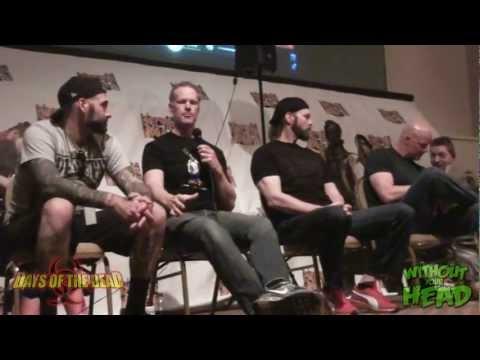 Men Behind the Mask Panel Derek Mears, Brian Steele, Tyler Mane & Nick Principe