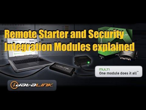 Vehicle Immobilizer Bypass/ Integration Modules Explained (Idatalink/ Xpresskit/ RSR)