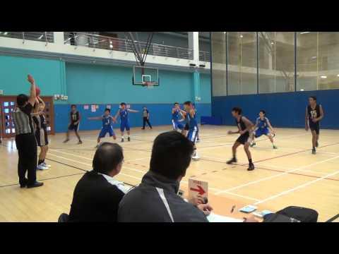 男子籃球學界 B grade TSK VS West Island 季軍戰 30-01-2016