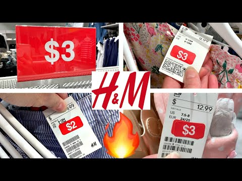H&M $3 CLEARANCE SHOPPING AT STORE #2!!!