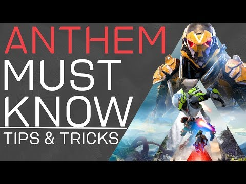 Anthem Must Know