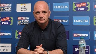 Richard Agar St Helens post match conference