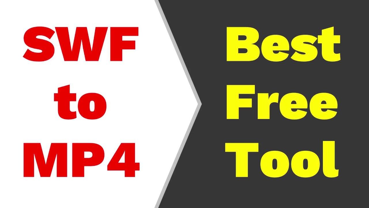 Convert SWF to MP4 | Best SWF converter | Free SWF converter | SWF to video