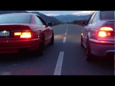 Bmw  E31 850 Ci v12 Vs Bmw E39 M5 V8