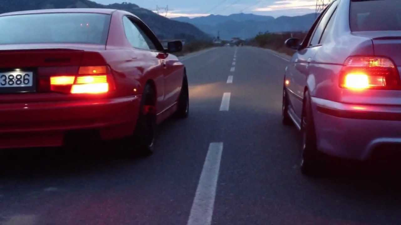 Bmw E39 M5 >> Bmw E31 850 Ci v12 Vs Bmw E39 M5 V8 - YouTube