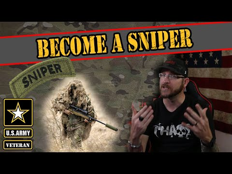 This Is How To Become A Sniper In The US Army