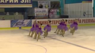 Чемпионат России по синхронному катанию  КМС  ПП 11 Юность ЕКА