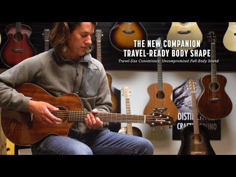 BREEDLOVE GUITARS: THE NEW COMPANION TRAVEL-READY BODY SHAPE REVIEW & FIRST IMPRESSIONS