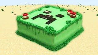 Un Delicioso Pastel En Minecraft - Serie De Minecraft - Mobs Gigantes 4 Cap 25