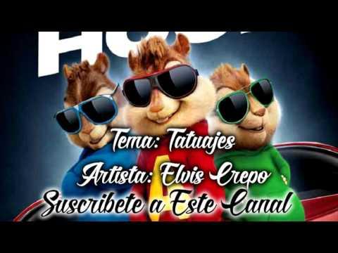 Tatuajes Alvin Y Las Ardillas (Elvis Crespo Tatuajes)