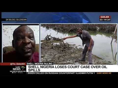 Royal Dutch Shell ordered to pay damages for oil pipeline leaks in Nigeria: Dr. Godwin Uyi Ojo