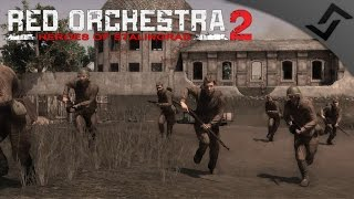 MKb-42 CQB Trench Defense - Red Orchestra 2 - Russian & German Infantry Gameplay