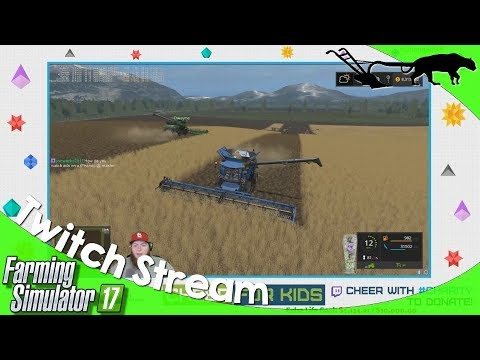Twitch Livestream: Farming Simulator 17 PC CHERRY HILLS Multiplayer 09/09/2017 P1