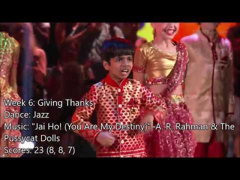 Akash Vukoti - All Dancing With The Stars: Juniors Performances