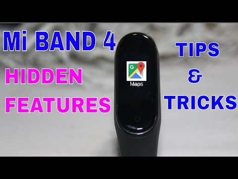 Mi Band 4 Hidden Tips And Tricks   How to Use Maps in Mi Band 4  How to Click Photo from Mi Band 4😎