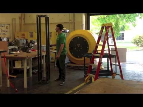 Wave Energy Converter Project 2013 - Assembling the Spar