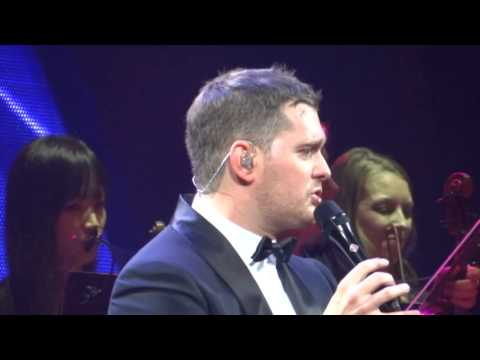 Michael Buble CLOSE YOUR EYES Indianapolis 9/15/2013