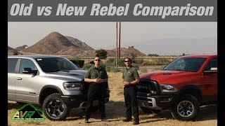 2019 Ram Rebel Comparison - Is the new generation better than the last?