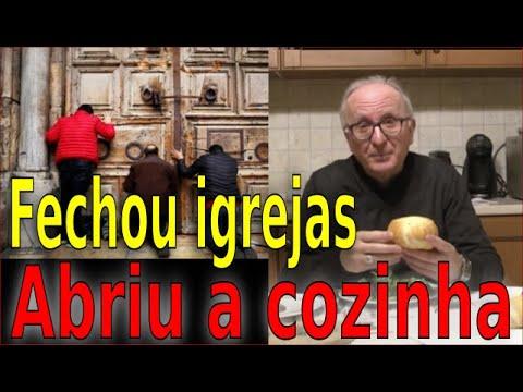 BISPO FECHA AS IGREJAS MAS ABRE A COZINHA