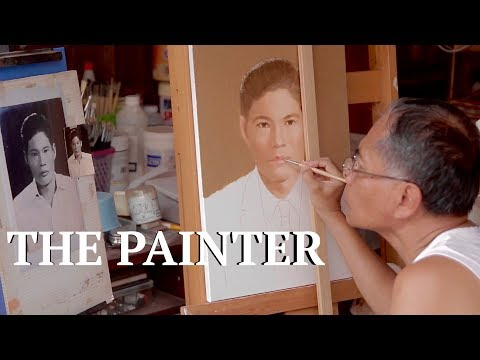 The Portrait Painter • Songkhla's Hidden Artist • สงขลา • THAILAND