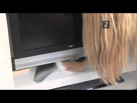 how to keep your television dust free youtube. Black Bedroom Furniture Sets. Home Design Ideas