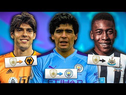 Randomizing ICONS On ALL Premier League Teams! FIFA 20 Career Mode