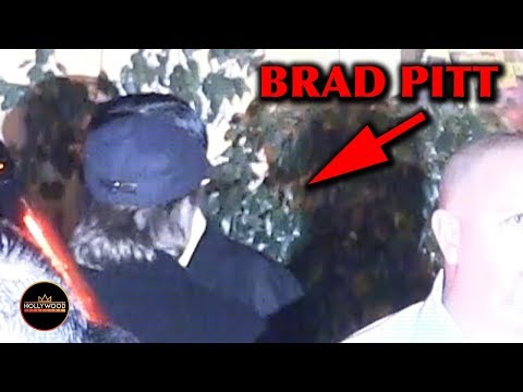 Video Proof of Brad Pitt at Jennifer Aniston's 50th Birthday Party