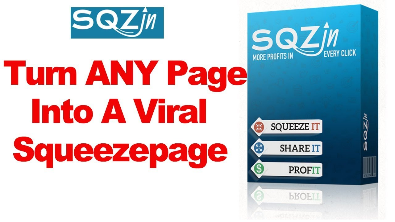 Simple lead generation tool in strategies to Turn ANY Page Into A Viral Squeezepage For Any niche