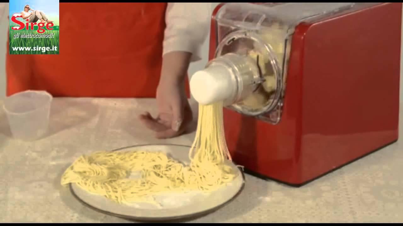 Macchina per fare la pasta fresca automatica impasta e for Piani per la macchina