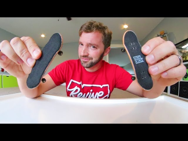 Tech Deck Vs Professional Fingerboard Which Is Better Youtube