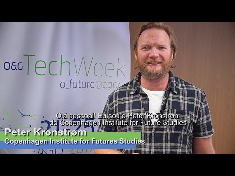 O&G TechWeek: Peter Kronstrøm será um dos palestrantes.