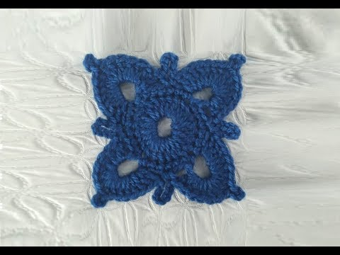 How to Crochet a Motif Pattern #192│by ThePatternFamily