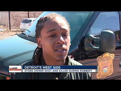 Detroit auto parts store employee shot & killed during robbery