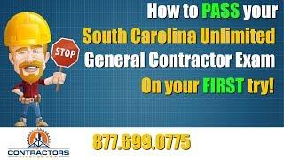 South Carolina General Contractor Exam Prep Course 🔨 🔨