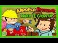 Monkey Preschool: When I Grow Up (THUP Games) - Best App For Kids