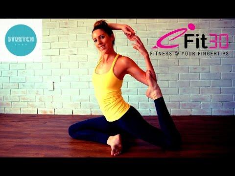 Yoga Practice by PJ Wells Beginner to Intermediate level - Audio Change - 동영상