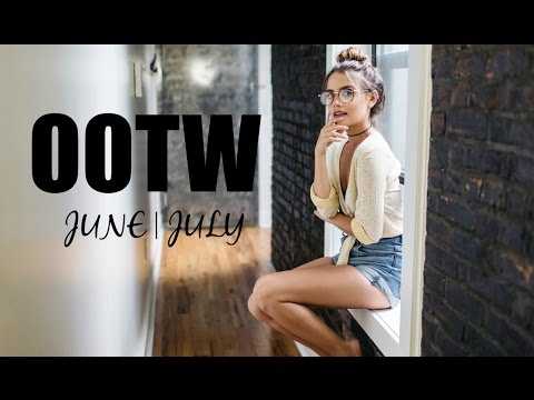 OOTW: JUNE/JULY  | 7 Everyday Summer Outfits!