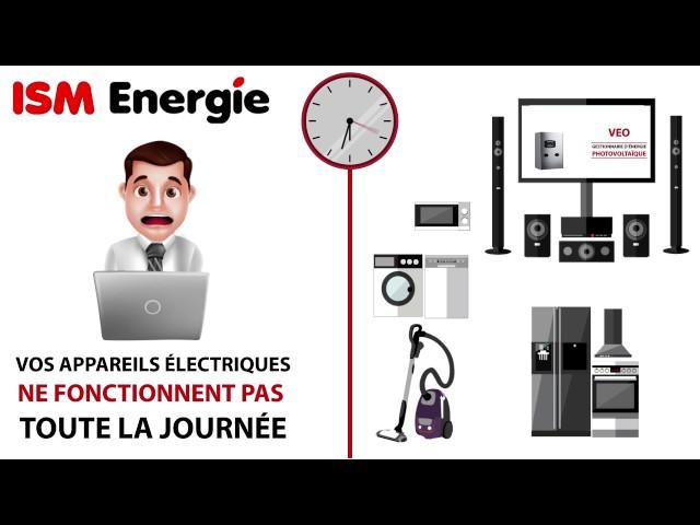ISM énergie veo gestionnaire d'énergie photovoltaïque