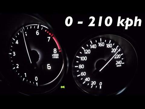 2016 Mazda MX-5 Miata Skyactiv G-160 - 0-100 km/h 0-60 mph Tachovideo Beschleunigung Acceleration