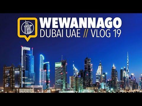 Welcome to Dubai: Budget hotel, Dubai Mall & the Aquarium // Round the World Travel // WeWannaGo TV
