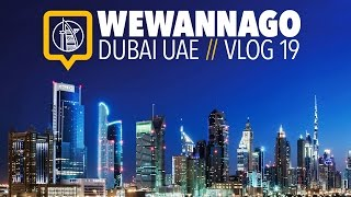 Welcome to Dubai: Budget hotel, Dubai Mall & the Aquarium // Round the World Travel // WeWannaGo TV