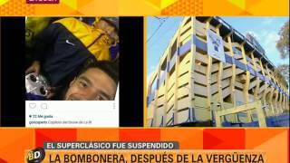 La Bombonera después del Superclásico suspendido - Telefe Noticias