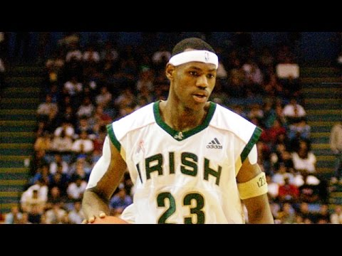 Lebron James Top 10 High School Plays
