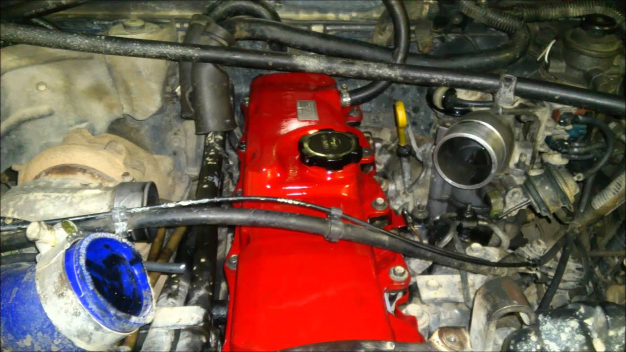 1992 Toyota Hilux Surf Wiring Diagram Parrot Mki9200 Installation 89 2 4 Td Rocker Cover And Glow Plugs Rebuild