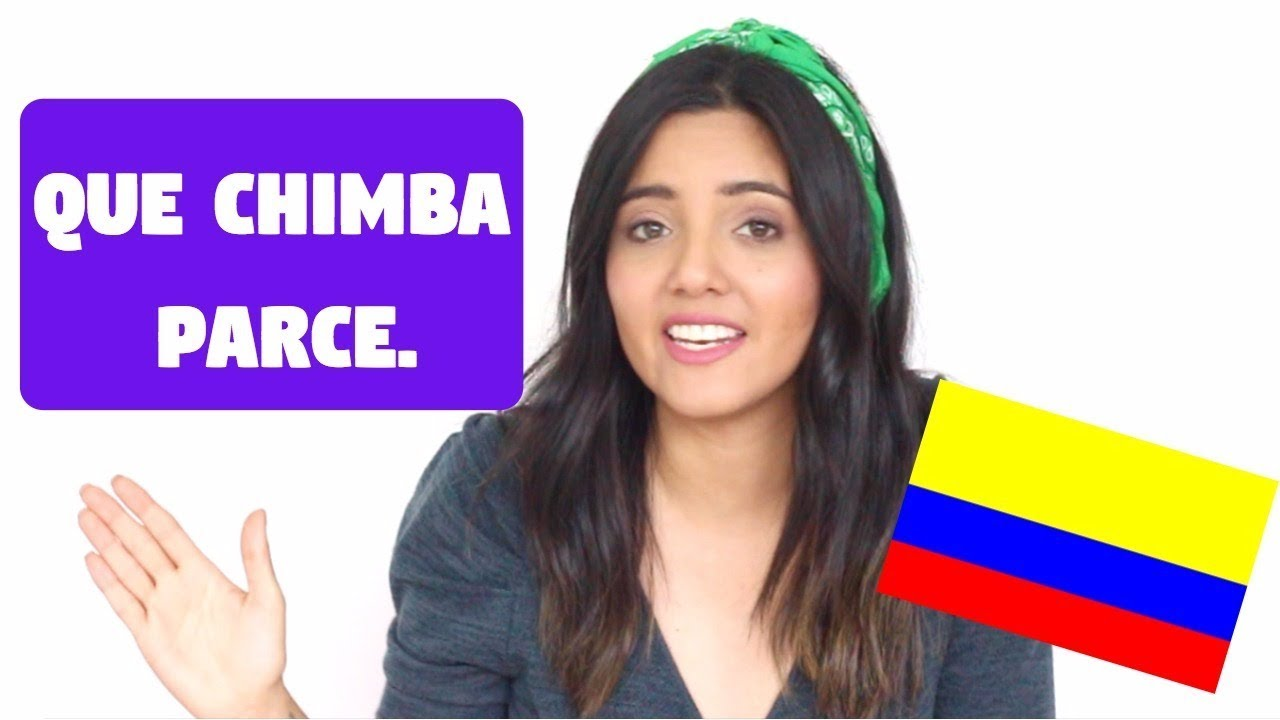 Expresiones Y Palabras Colombianas Yirac