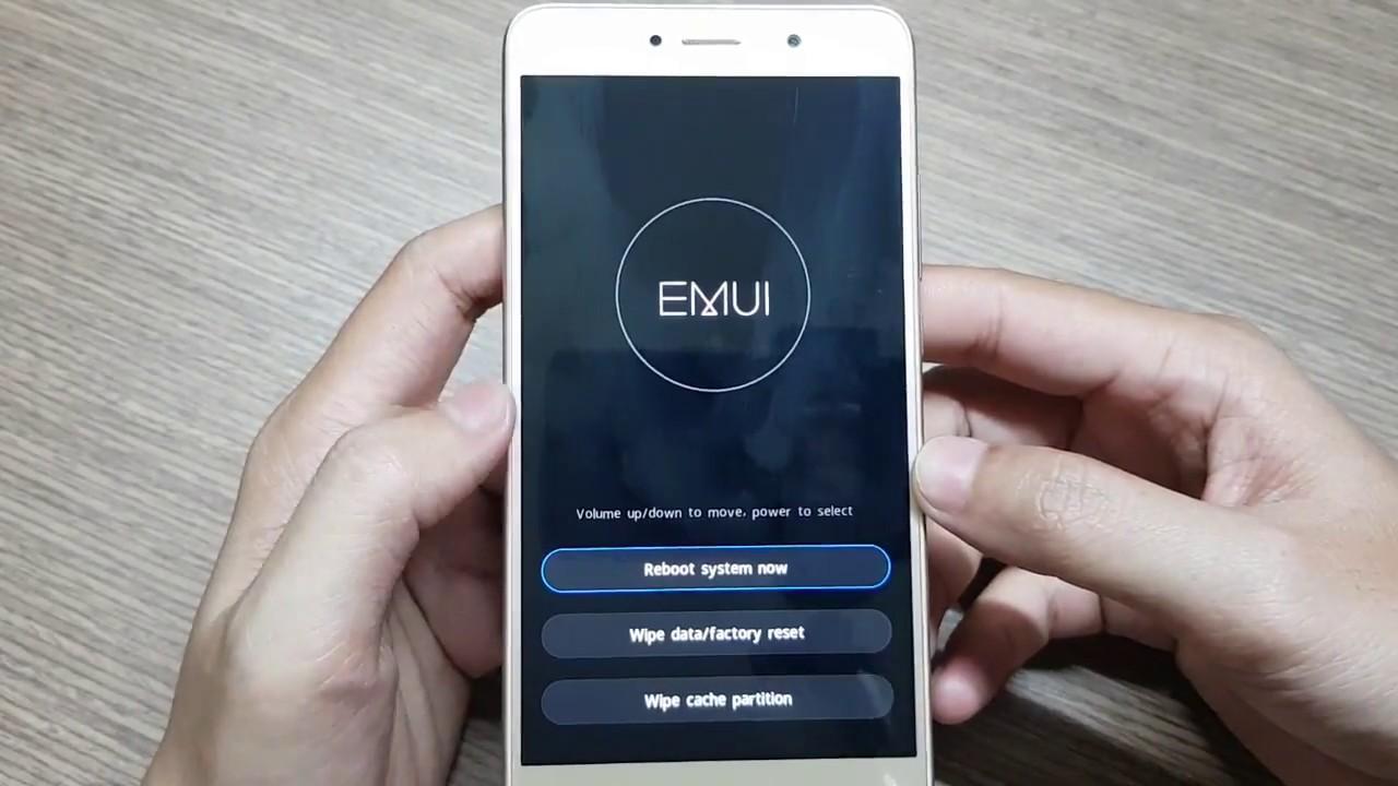 Huawei Y7 Chạy Lại Chương Trình Khi Quên Mật Khẩu Màn Hình