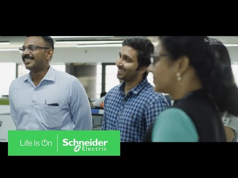 EcoStruxure Building: UST Global's Digital, Connected Office In India | Schneider Electric